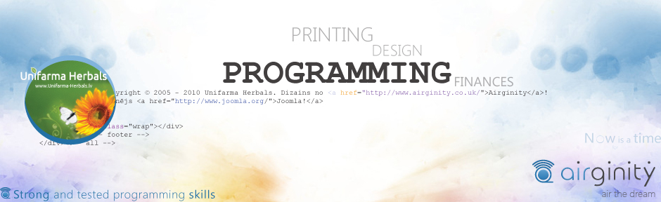 Airginity banner programming